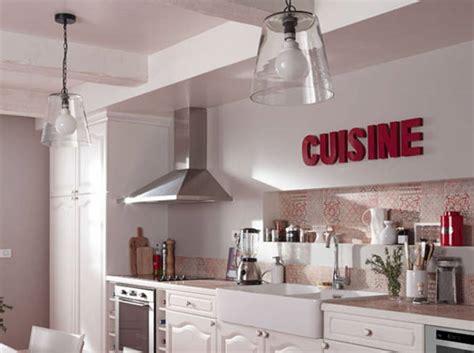 lettre deco cuisine 30 idées à piquer pour une cuisine décoration