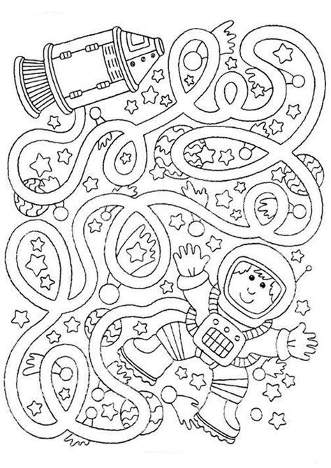 simple maze printables  preschoolers