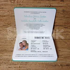 Wedding invitation passport designs wedding invitations for Save the date passport template