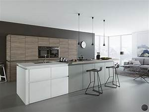 30 gorgeous grey and white kitchens that get their mix right With kitchen cabinet trends 2018 combined with abstract circles wall art