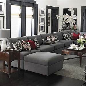 Beckham large sectional sofa sectional sofas for Large sectional sofa in small living room