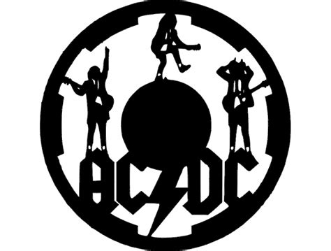acdc clock dxf file   axisco
