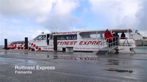 Rottnest Express B Shed by Rottnest Express Fremantle To Rottnest Island