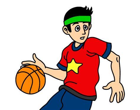 Dibujo de el basketbolista pintado por Marcia99 en Dibujos ...