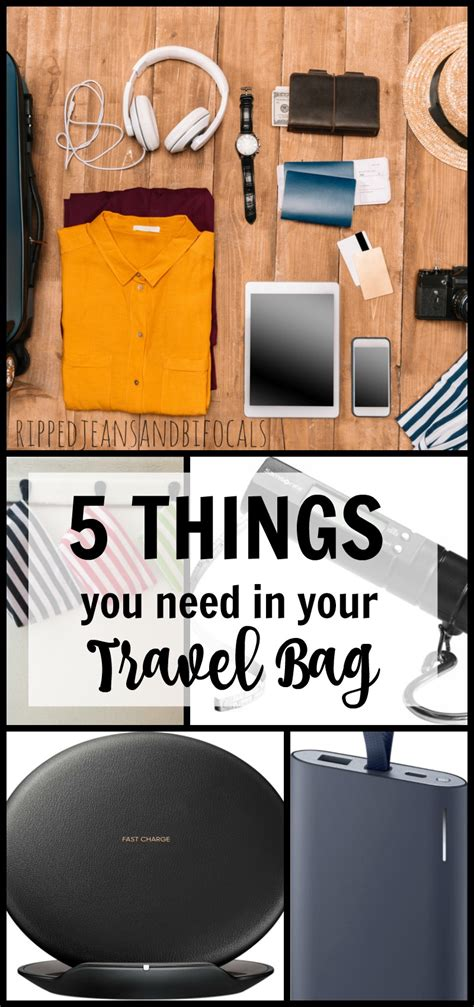 Things You Need In Your Travel Bag