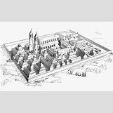 Medieval Monastery Layout | 600 x 369 jpeg 74kB