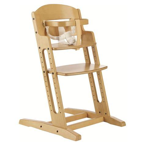 b b chaise haute babydan baby highchair nature wooden high chair