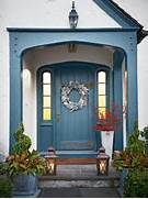 If Your Front Porch Is Small But Wide Enough You Can Put Some Decor On Front Door And Entrance Decorating Ideas POPSUGAR Home Front Entry Design Ideas Home Interior Design Decorating The Back Front Porch For Fall Unskinny Boppy