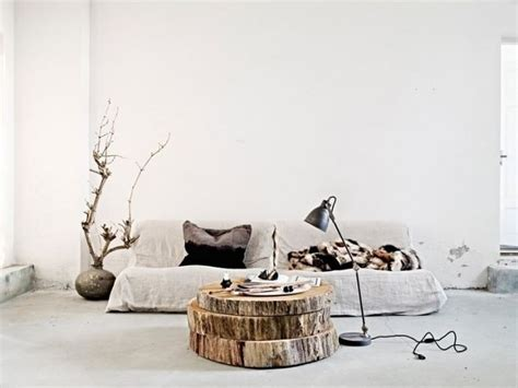 Tree Trunk Table Lamp by Boomstam Salontafel Homease