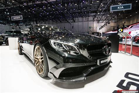Geneva 2018 Brabus 850 60 Biturbo Coupe Gtspirit
