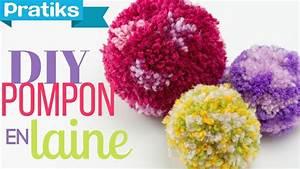 Faire Un Pompon Avec De La Laine : comment faire un pompon en laine youtube ~ Zukunftsfamilie.com Idées de Décoration