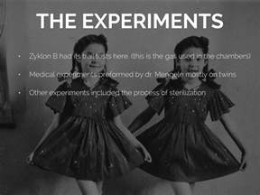 Holocaust Medical Experiments On Twins