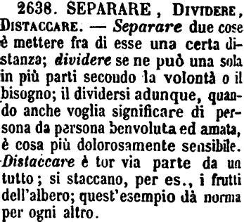 Dispensare Sinonimi by Dividere Dizionario Significato E Curiosit 224