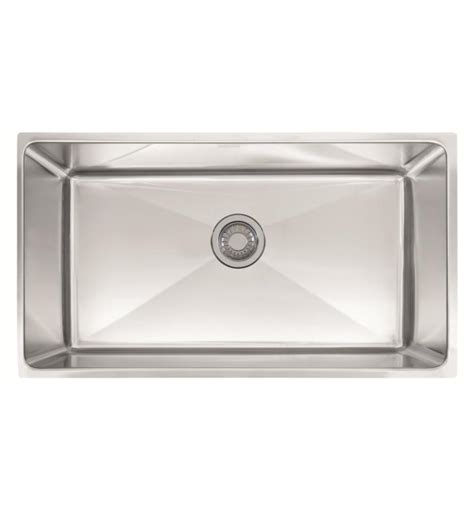 professional kitchen sinks franke psx1103310 professional 34 quot single basin undermount 1670