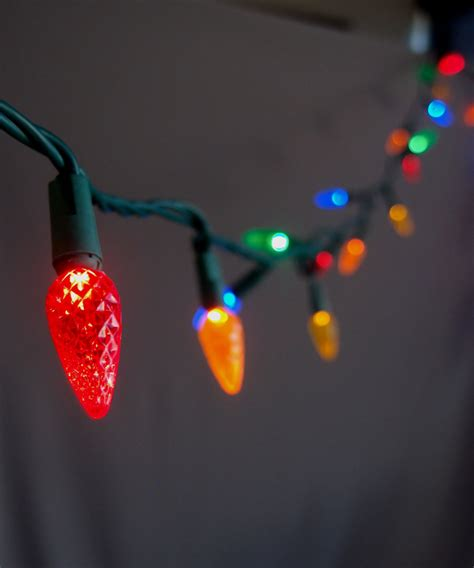 commercial outdoor led string lights 70 multi color rgb led c6 commercial outdoor string