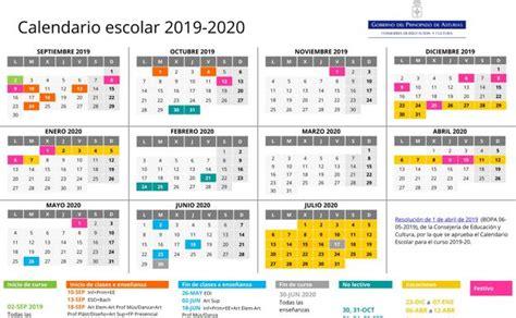 el calendario escolar tendra dos periodos de