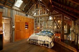 Small Cabin Bathroom Ideas by Repurposed Tobacco Barn Honeybrook Pa Rustic Bedroom
