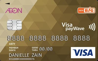 aeon big visa gold cashback rewards