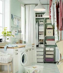 Simple ikea organized laundry storage 2012 interior for Laundry room organization ideas ikea