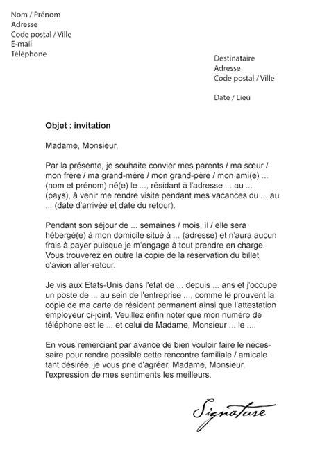 modele lettre deblocage perp lettre d invitation visa usa 201 tats unis d am 233 rique