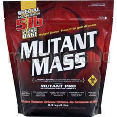 Mutant Mass 5 Lbs By Nutriku mutant mass mass gainer stawberry banana creme 5
