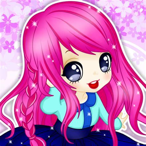 Anime Wallpaper Maker - chibi princess maker anime creator on the app
