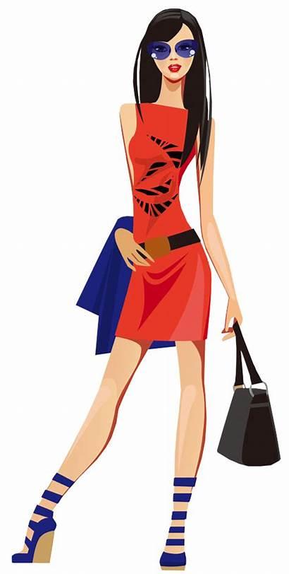 Clipart Shopping Cartoon Transparent Vector Cliparts Bag