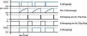 Ne555 Als Monostabile Kippstufe    Retriggerbares Monoflop