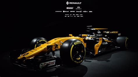 renault f1 renault launch 2017 car the rs17 ahead of new formula 1