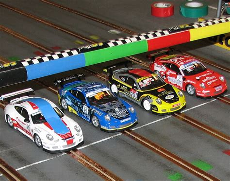 Bolwextric Scalextric Slot Car Racing Charity Endurance 2012
