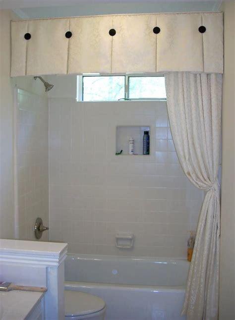bathroom valances ideas innovative bathroom shower window curtains best 25