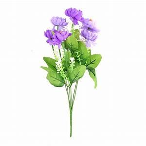 achetez en gros violet fleurs de marguerite en ligne a des With decoration de bassin de jardin 16 marguerite bouquet fleur artificielle