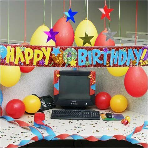 Cubicle Decoration Ideas For Birthday by 25 Best Ideas About Cubicle Birthday Decorations On