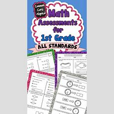 Common Core Math Assessments  1st Grade  Assessment, Common Core Math And Math