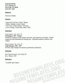free acting resume template 2017 word resume templates for kids template design