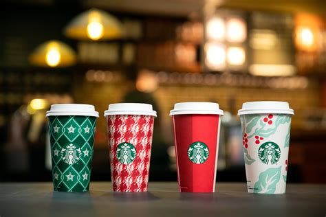 starbucks  released  holiday  cup designs