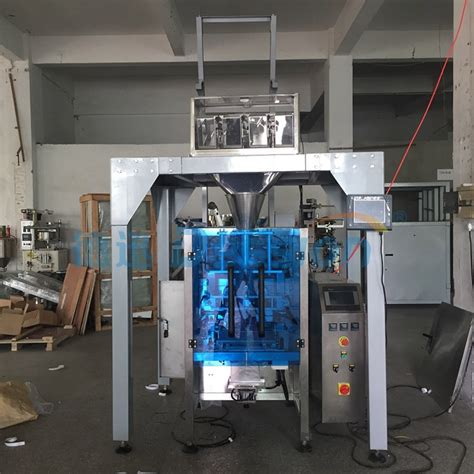 small plastic tubes pouch packing filling machine  automatic multi heads weighing