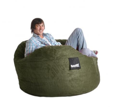 Like Lovesac by Chairs And Sofas Cheap 5 Olive Green Foam Bean Bag Chair