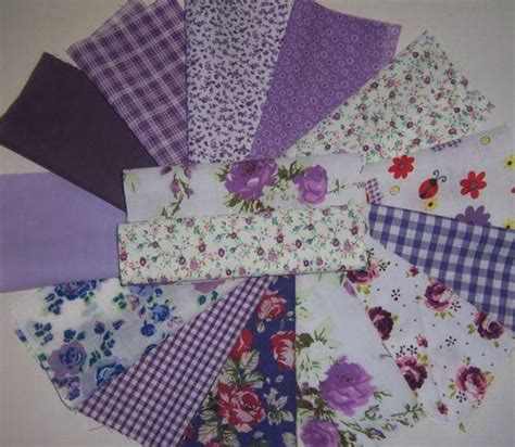 patchwork material fabric ebay
