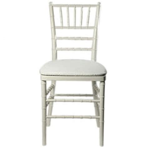 white chiavari chair event source
