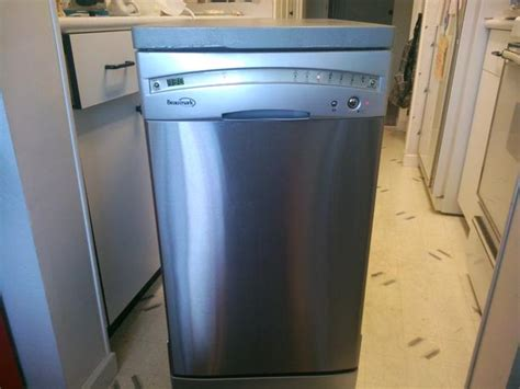 apartment size stainless steel portable dishwasher
