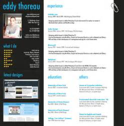 curriculum vitae photoshop templates 9 helpful resume design tutorials to learn designbump