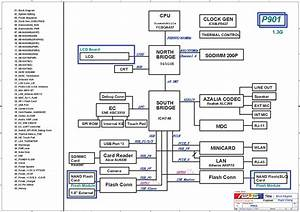 Asus Eee Pc P901 Block Diagram