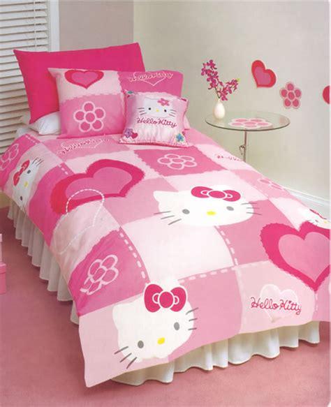 kitty bedding set home trendy