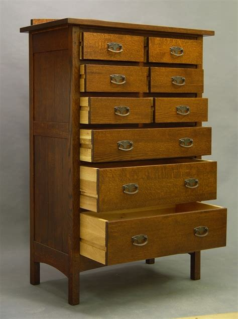 Mission, 9 Drawer Tall Chest Of Drawers Dressers