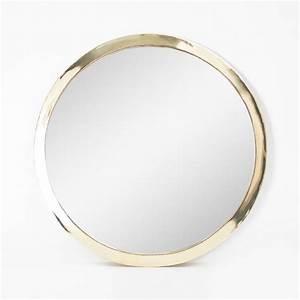 Miroir Rond 50 Cm : miroir rond miroir rond epure gris d 50 cm house doctor ~ Dailycaller-alerts.com Idées de Décoration