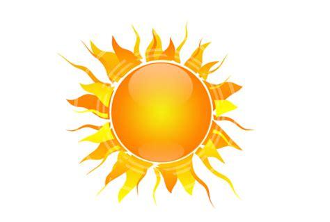 Stock Photoshop sun bright yellow