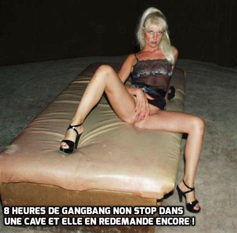 Gallery Caption In French And English For Coco The Slut And Whore