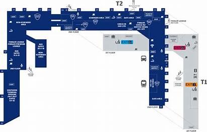 Airport Vantaa Helsinki Map Hel Finland Finnair