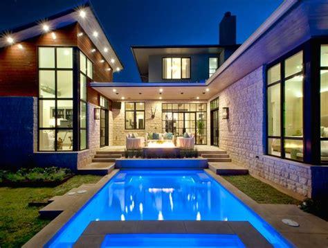 lovely swimming pool house designs home design lover